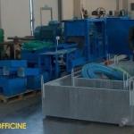Macchina Rifinitrice e Intestatrice a ciclo continuo con vasca per il riciclo