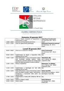 Italian Stone Experience