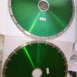 Lama diamantata diametro 350 per taglio marmi e graniti