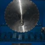 Macchina per fette da rivestimenti a 9 lame diamantate