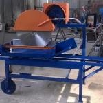 Squadratufi trifase HP 10 con vasca per il riciclo